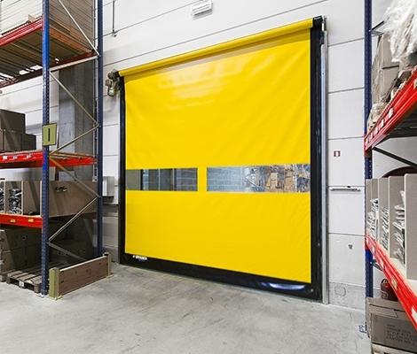 Dynaco d311 met geel deurblad en vensters
