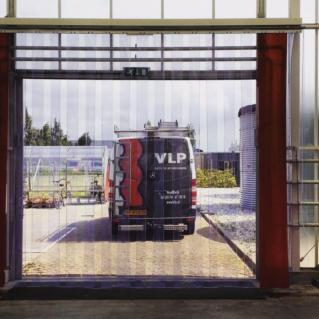 VLP bus voor strokengordijn buiten